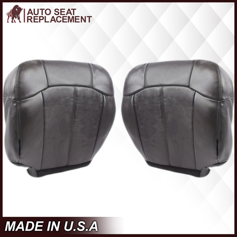 "1999-2002 Chevy Silverado Seat Cover in Dark Graphite ""Dark Gray"": Choose From Variations"