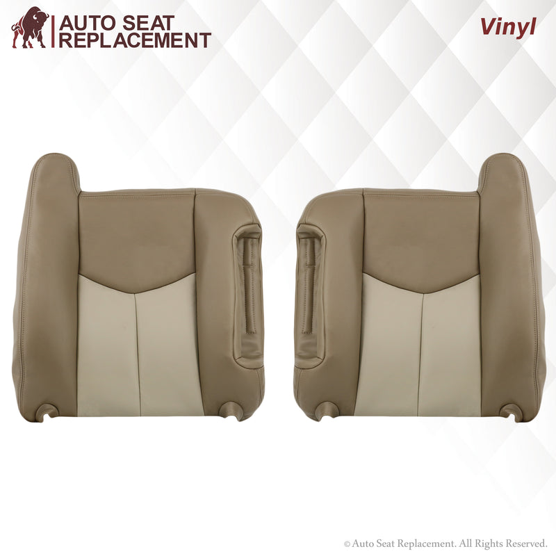 2003-2006 GMC Yukon Denali Seat Cover in 2 Tone Tan: Choose From Variants