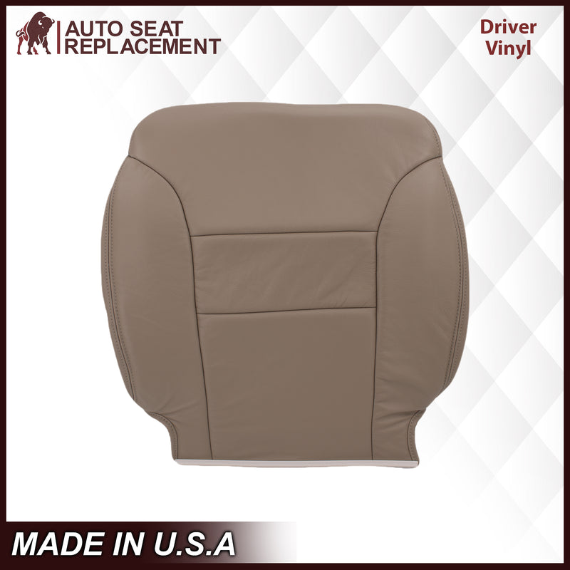 1995-1999 Chevy Tahoe/Suburban/Silverado Seat Cover in Tan (60/40 Bench Bottoms): Choose your options