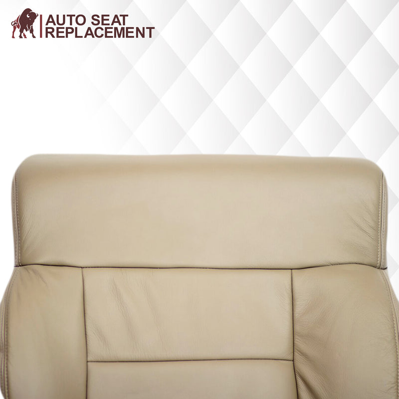 2005-2008 Ford F-150 Seat Cover in Tan: Choose Leather or Vinyl