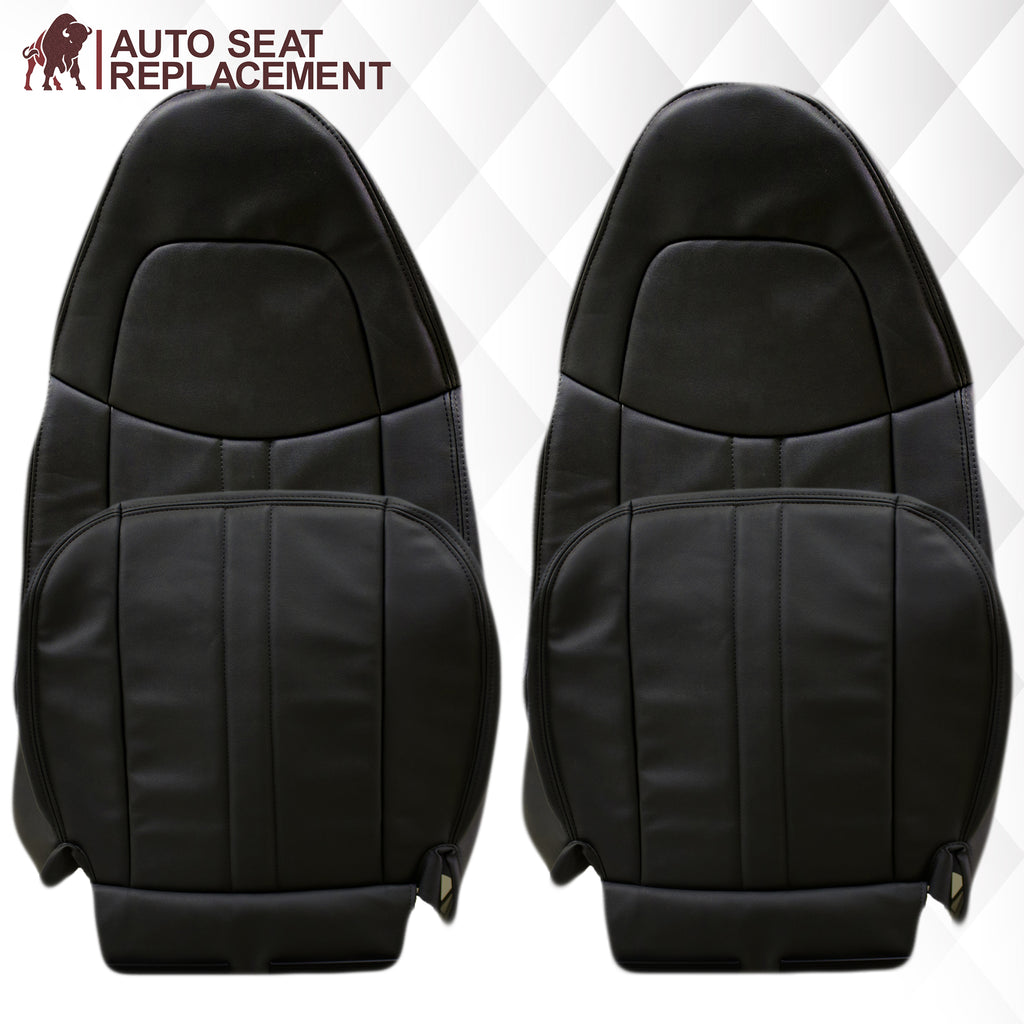 2003-2009 GMC C Series Topkick Vinyl Seat Cover in Dark Gray