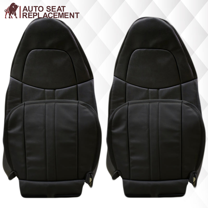 2003-2009 Chevy C Series Kodiak Vinyl Seat Cover in Dark Gray
