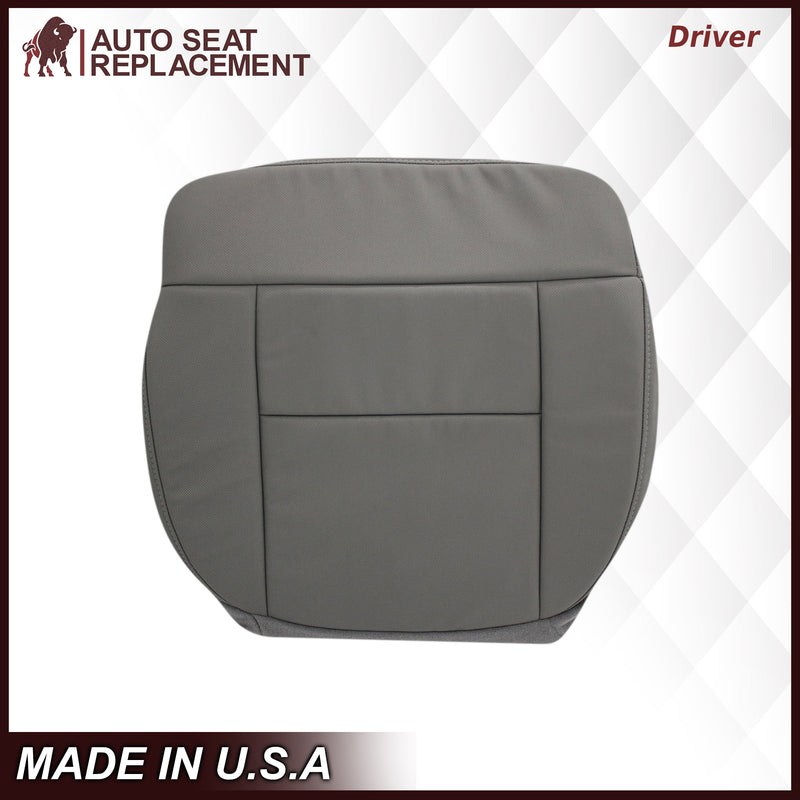 2004 2005 2006 2007 2008 Ford F150 Lariat Cloth Seat Covers in Medium Flint Gray