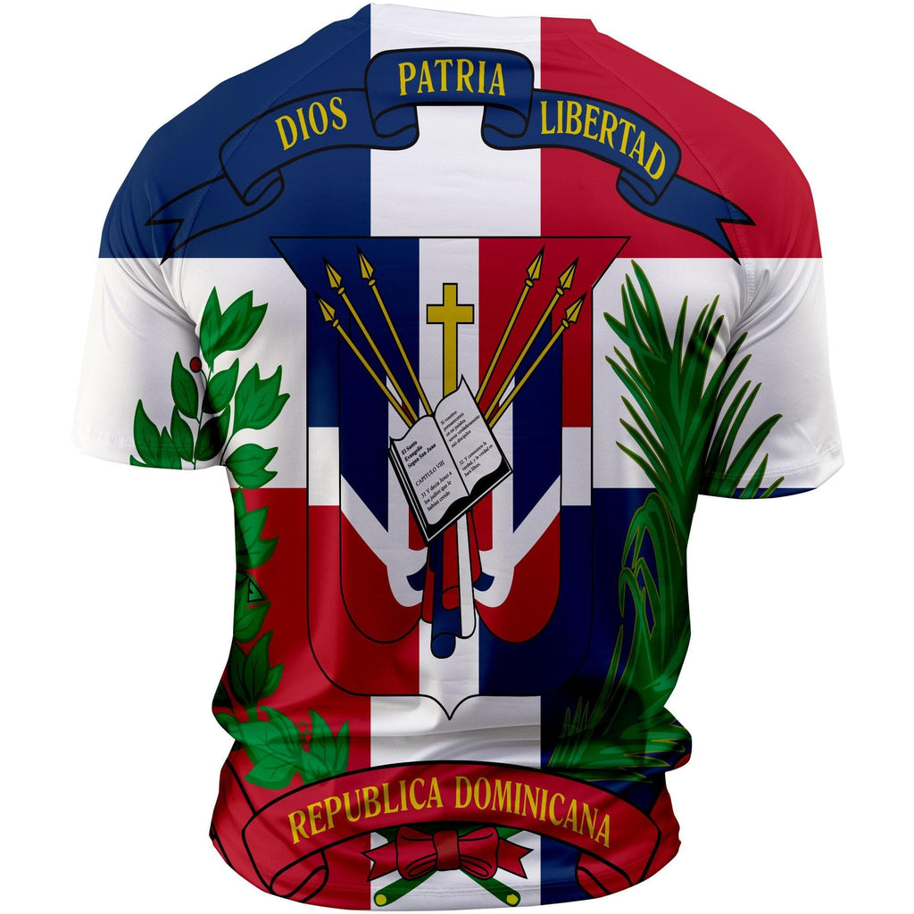 Dominican Republic Flag Sublimated Shirt P