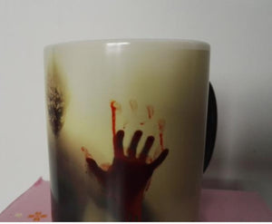 Zombie color changing mug