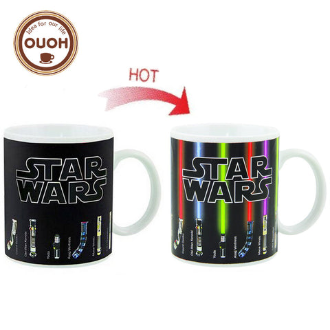 Star Wars Heat color changing Mug