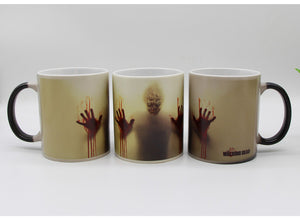 Newest Design Zombie Heat Sensitive Color Changing Coffee Mug