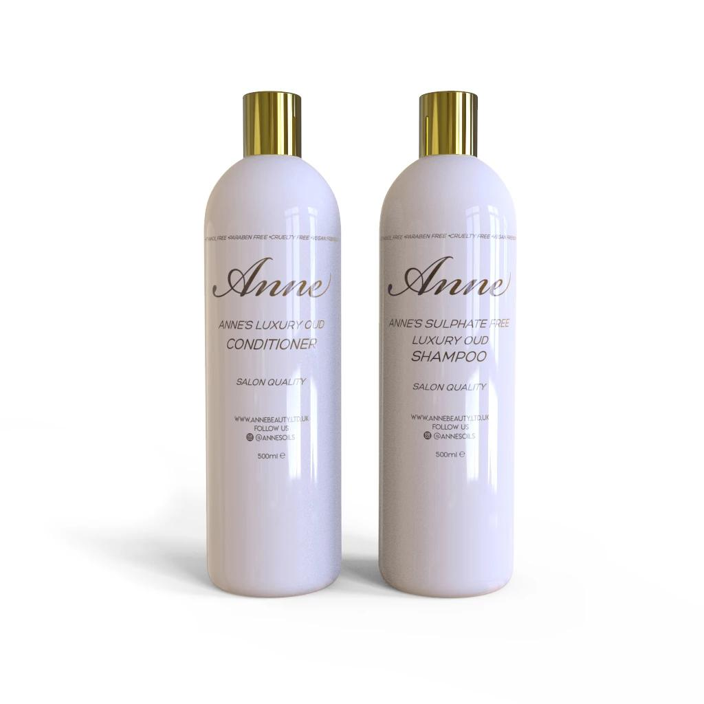 Sulphate Free Luxury Oud Shampoo and Conditioner