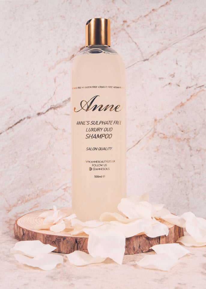 Sulphate Free Luxury Oud Shampoo - anneshairoilusaofficial
