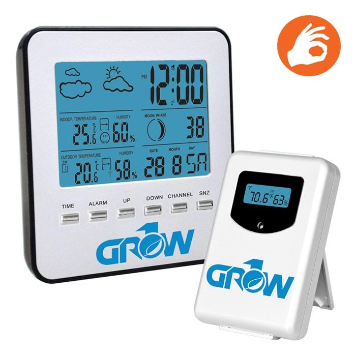Grow1 Wireless Weather Station w/ Sensor