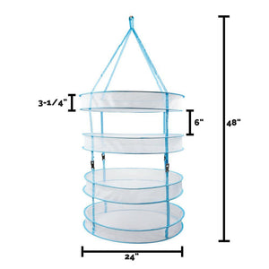 Hanging Bud Drying Rack Avaliable in 2, 4, and 6 Tier Sizes