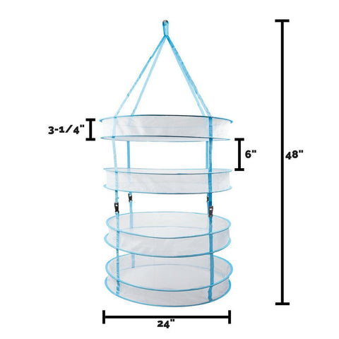 Image of Hanging Bud Drying Rack Avaliable in 2, 4, and 6 Tier Sizes