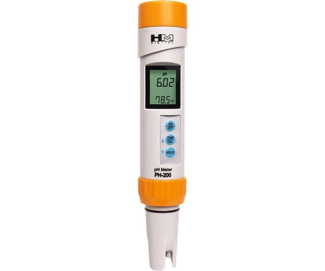 HM Digital PH-200 Waterproof pH/Temperature Meter