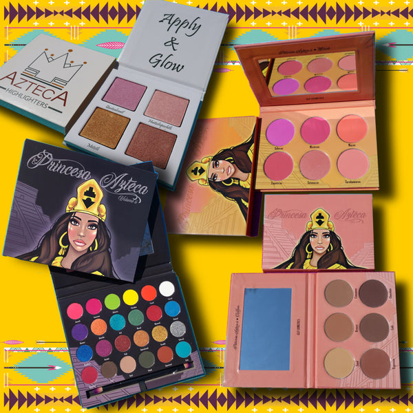 Princesa Azteca Vol II,Blush, Contour  & Highlighter Bundle