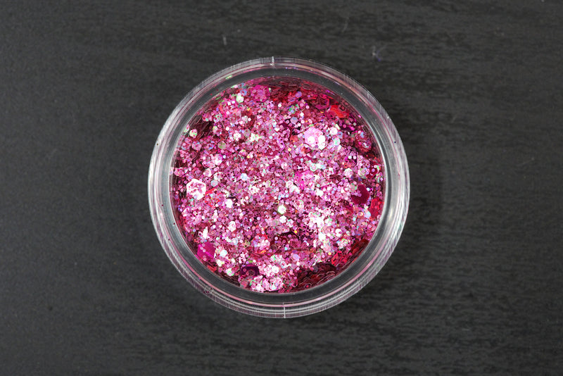 Chunky Glitters 12 colors to choose from (10g jars)