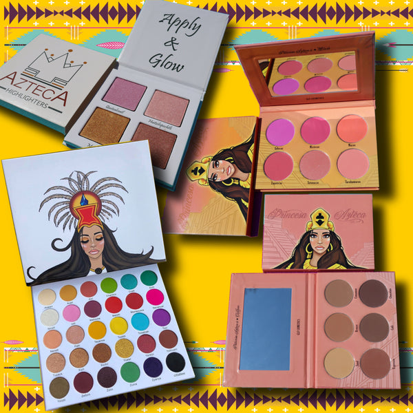 Princesa Azteca Vol I, Blush, Contour  & Highlighter Bundle