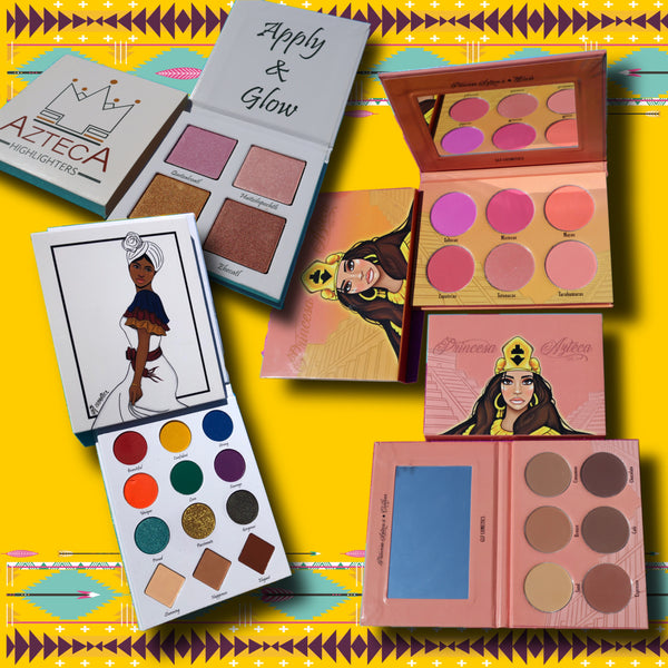 Princess Ayiti,  Blush, Contour  & Highlighter Bundle