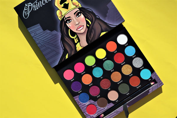 PRINCESA AZTECA VOl. II Palette  (free brush and stand)
