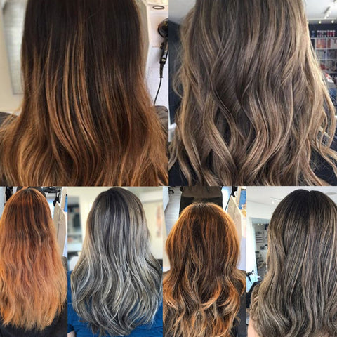 How to fix orange hair tint department we recommend toning with a blue based demi or permanent colour then grabbing the intense blue shampoo treatment mask these products will seriously urmus Gallery