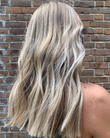 Wella Colour Charm Toner in T18 Lightest Ash Blonde to tone highlights
