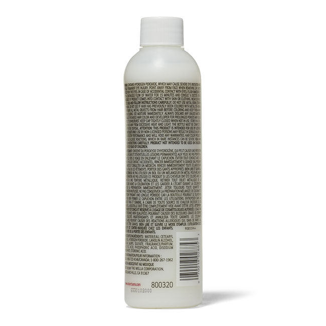 Wella Colour Charm Activating Lotion 231ml Instructions