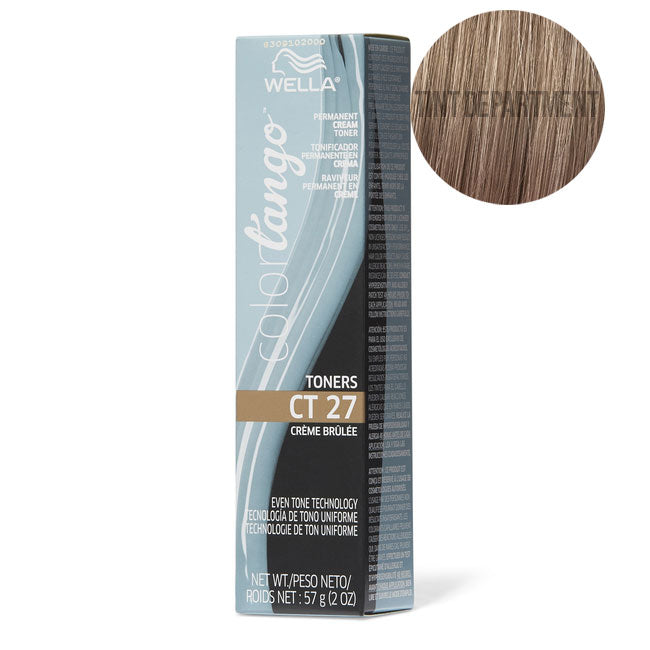 Wella Colour Tango Toner CT27 Creme Brulee