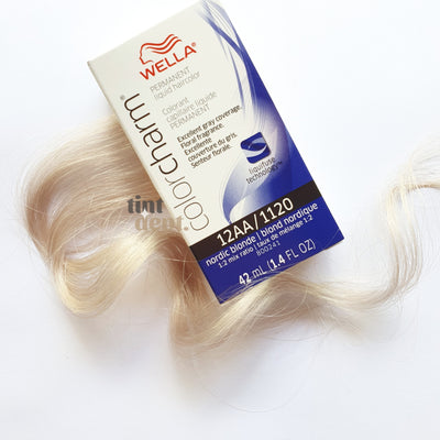 Wella Color Charm 12AA Nordic Blonde Tint Department Australia Professional Hair Dye