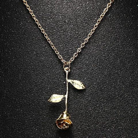 Rose Flower Necklace