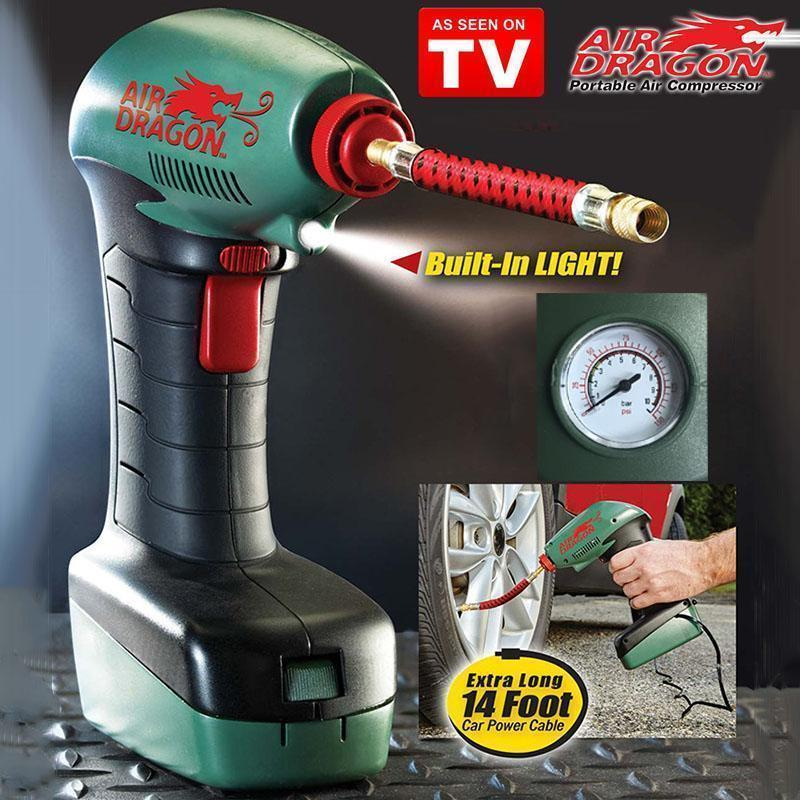 PORTABLE AIR COMPRESSOR - AIR DRAGON - IGOGES