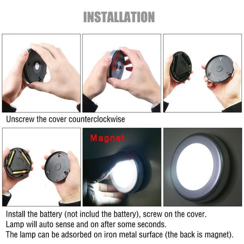 Image of Motion Sensor Activated Wall Light - IGOGES