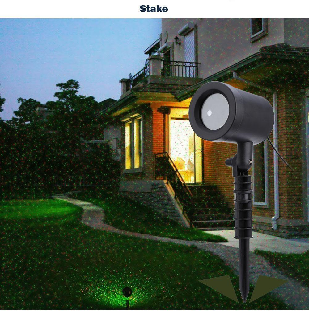 Outdoor Laser Sky Star Spotlight Projector - IGOGES