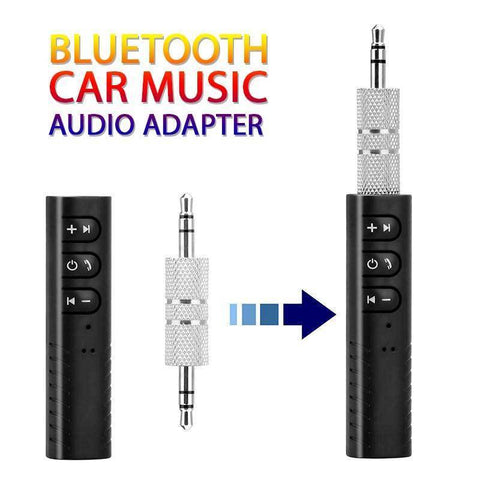 Image of Bluetooth Car Adapter: Music Audio AUX - IGOGES
