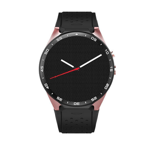 Image of MTK-KW88 SMART WATCH FASHION LUXURY COMPATIBLE ANDROID / IOS PHONE. - IGOGES