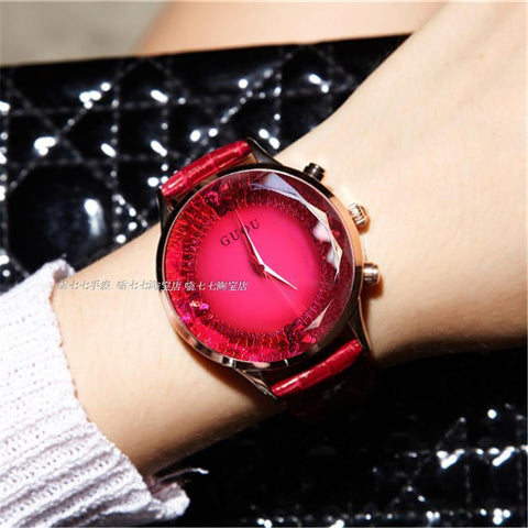 Watch Luxury Rhinestone For Lady - Water Resistant