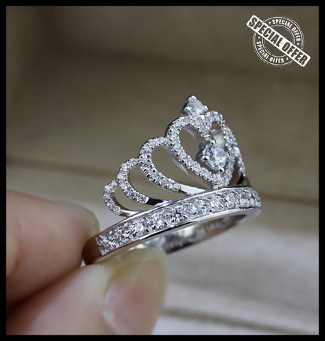 Image of Lovers Crown Ring - IGOGES