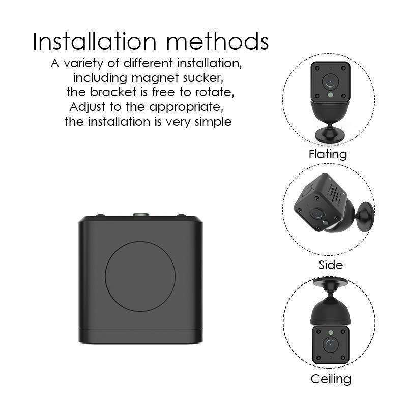 Stealth Mini HD WIFI Mini IP Camera Night Vision Motion Detection Security Spy Camera