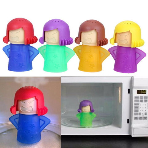 Microwave Cleaner Angry Mama - IGOGES