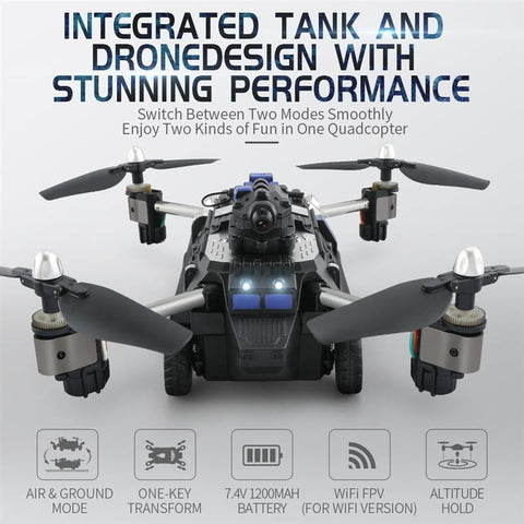 New Innovative TANK-DRONE (Original) - LIMITED EDITION - IGOGES