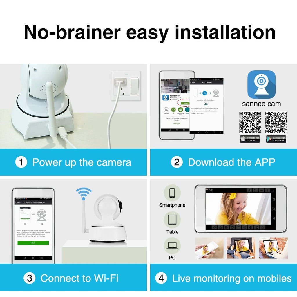 Camera For Home Security - IGOGES