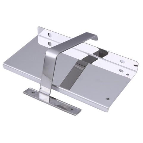 Image of Stainless Steel Bathroom Roll Toilet Paper Phone Holder