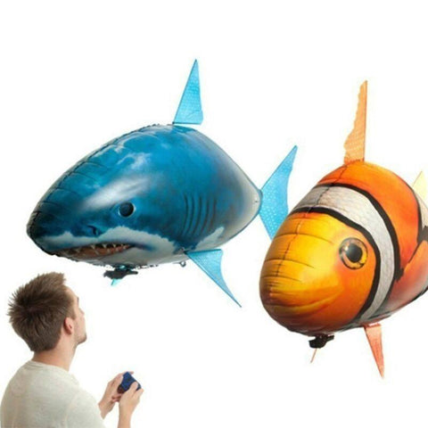 Image of Remote Control Air Swimming Fish