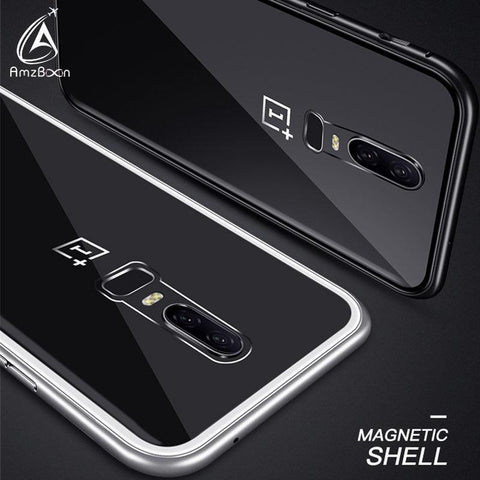 Magnetic Adsorption Phone Case For Oneplus 6 - IGOGES
