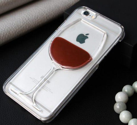 Wine Glass Iphone Cover Case