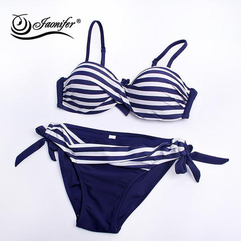 Image of Women Twisted Bikini 2018 Sets Swimwear