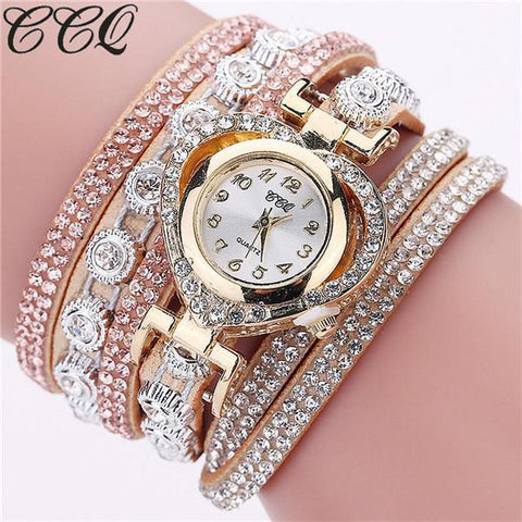 Image of Fashion Luxury Rhinestone Bracelet Watch Ladies - IGOGES