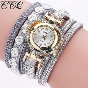 Fashion Luxury Rhinestone Bracelet Watch Ladies