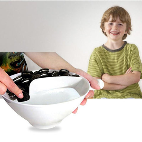 Image of New Bowl Cereal Separator With Handle - IGOGES