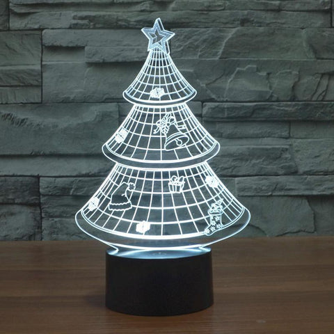 Image of CHRISMAS TREE LED Night Lights - IGOGES