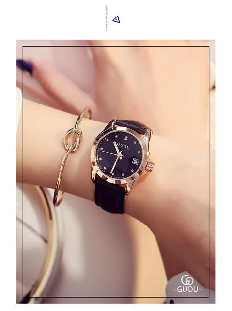 Fashion Calendar Watch Luxury - Water Resistant - IGOGES