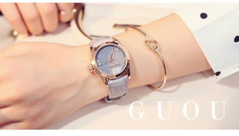Image of Fashion Calendar Watch Luxury - Water Resistant - IGOGES